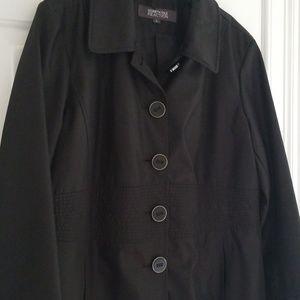 Kenneth Cole Reaction, Black Coat, Size XL